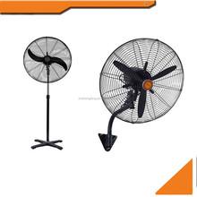 """26"""" 30"""" inch 2 in 1 industrial stand fan and wall fan"""