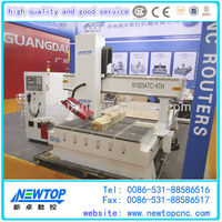 European quality CNC RouterCNC engraving machine1325with 4thHot!bangalore CE certificate PVC plastic 3d CNC cutting machine