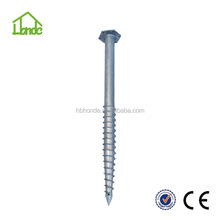 Hot dipped Galvanized screw ground anchor factory
