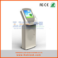 """self-service information kiosk with 15"""" touch screen"""