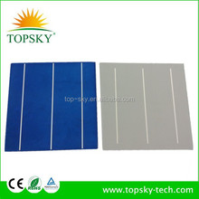 TP-156P Hottest sell 6'x6'' multicrystalline solar cell supplier high efficiency&quality polycrystalline silicon solar cell