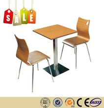 Restaurant Chairs wholesale wooden Industrial iron table legs on Sales