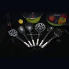 nylon kitchenware set / plastic kitchen tools / new design nylon kitchen tools