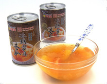Canned Steamed Cajan With Rock Sugar & Fungus Canned fruit brands canned fruit canned tropical fruit