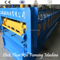 High Quality Flooring Deck Steel Panel Roll Forming Machine
