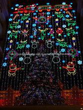 Luz de Mariposa de Navidad del para la decoración de edificio exterior