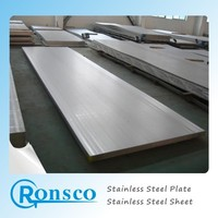 ASTM A240 ss304 steel plate thickness chart with NO.1 finish 5mm thick