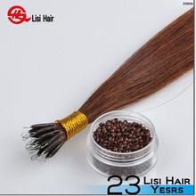 2015 New Design Keratin Socap Glue Beauty Works Brand Name nano ring hair extensions no split ends