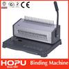 China global hot sale comb book binding binder comb book binding machine
