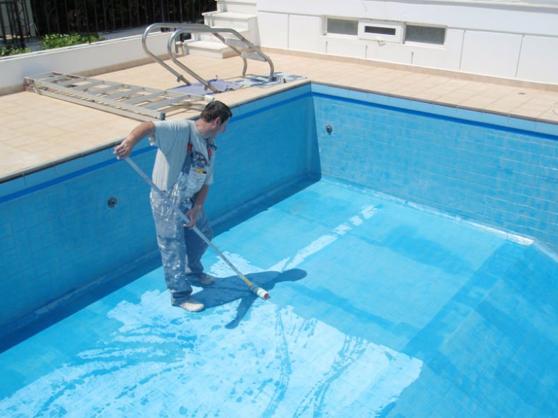 Epoxy pool paint buy swimming pool paint product on for Epoxy coating for swimming pools