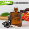 Wholesale chemical glass bottle, amber glass dropper bottle for ejuice, glass essential oil bottles