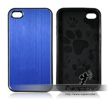 2012 aluminum TPU case for iphone4 for iphone4/4s