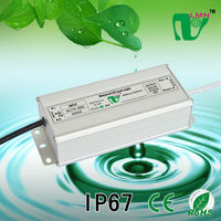 62W waterproof constant current led driver