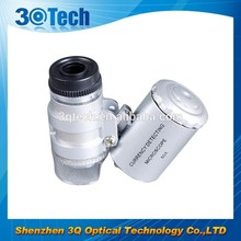 DH-85005 Cheap optical magnifier 60x mini microscope for kids