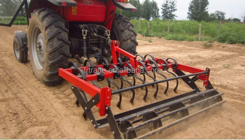 Compact Tracteur Printemps Dents Cultivateur Avec Crumbler
