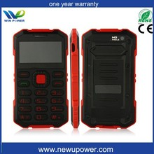 GSM quad band waterproof phone IP67 cell qwerty keyboard mobile phone