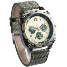 YB men watch,vintage watch leather strap,military watch army watch
