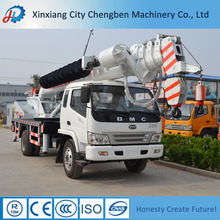 Electrical Telegraph Pole Building Used 12t Truck Crane with Competitive Price