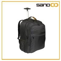 2015 New wheeled laptop backpack, waterproof travel trolley laptop bag