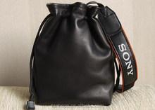 2015 Newest Black Handmade Genuine Leather Camera Bag ,Bag Camera Wholesale ,Camera Bag