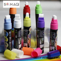 liquid chalk marker pen-15mm nib 8 pack-wholesale price promotional pen from China