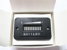 LED Digital State Battery Discharge Indicator RL-BI003 for Golf Cart, Electric Vehicle,12V&24V,24V,36V,48V,72V-RL-BI003