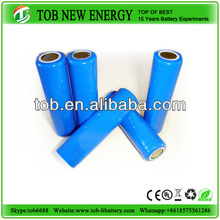 1x18650 truck lithium rechargeable battery pack 3.7v