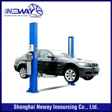 CE certified 4 ton 2 post car lifter
