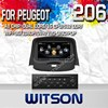 WITSON CAR DVD PLAYER GPS NAVIGATION FOR Peugeot 206