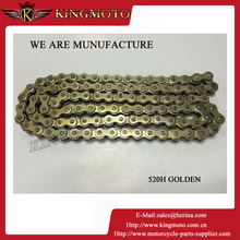 Natural color 40Mn125cc 150cc 150cc engine timing chain for dirt bike motorcycle ATV