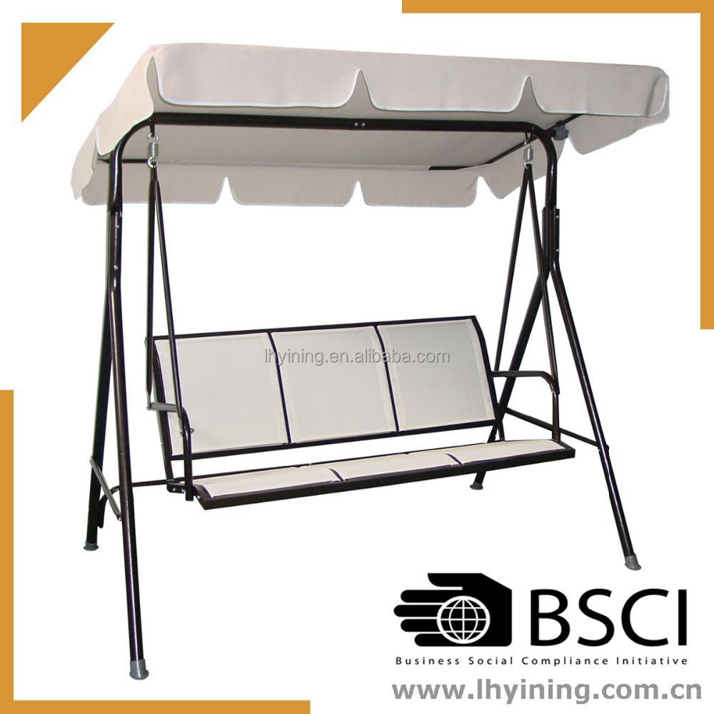 3 seat adult garden swings 3 seat swing chair indoor 3 for Indoor swing seat
