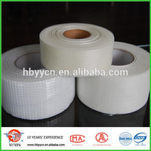 Self adhesive reinforced fiber glass edging tape caulking tape for gypsum boards, mgo board,wall board