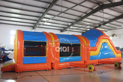 Fantasy inflatable obstacle games/inflatable tunnel obstacle course