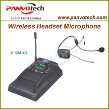 UHF Wireless Headset Microphone System Ideal For Aerobics, Churches, Schools