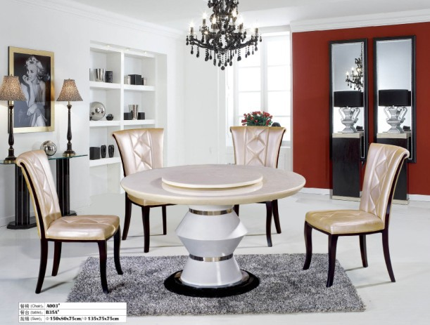 2015 high quality dining room furniture high quality dining room set solid wood dining table of