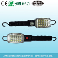 Hand held or hanging 36 LED rechargable working light
