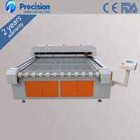 auto feeding laser fabric cutting machine / textile cloth laser cutter