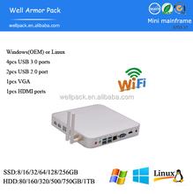 Well Armor Pack 2pc USB 2.0 port mini PC PA10 i3 4010U