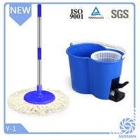 Hot sale footpedal telescopic rod microfiber magic mop stick