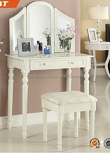 wooden Dresser table,makeup dresser with mirror