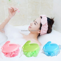 South Korea's can be hung super soft massage bath ball shower sponge brush Bath brush bath flowers