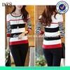 wholesale women pullover, womens stripe pullover, women's pullover sweater