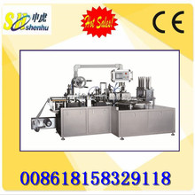 SH-300D PVC paper Toothbrush Packing Machine