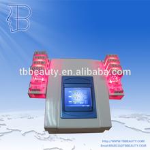 T&B láser doble pérdida de peso 980nm 650nm lipo máquina de láser
