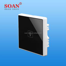 SOAN KG011 Wireless remote control smart touch wall switch Indoor lighting switch lamp control, touch button