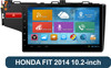 car dvd player for honda Fit 2014 with gps navigation system android car tv radio dvd player