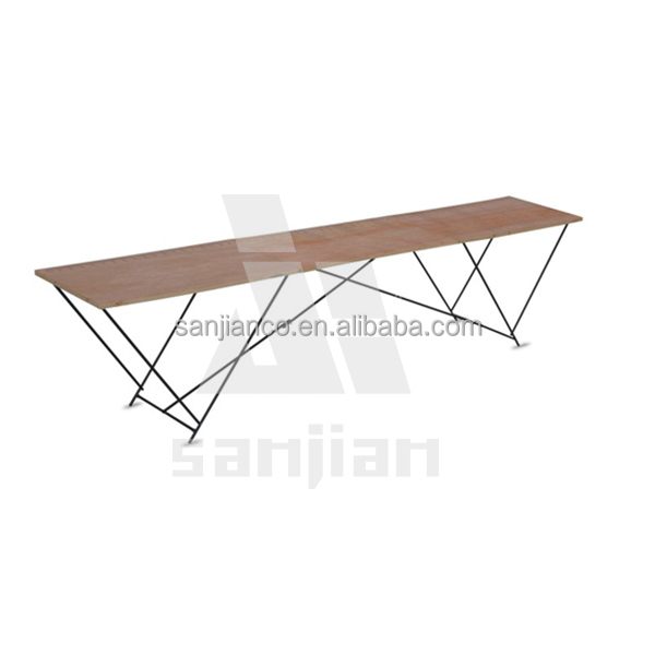 3 sections 3m wooden wallpaper pasting table buy. Black Bedroom Furniture Sets. Home Design Ideas