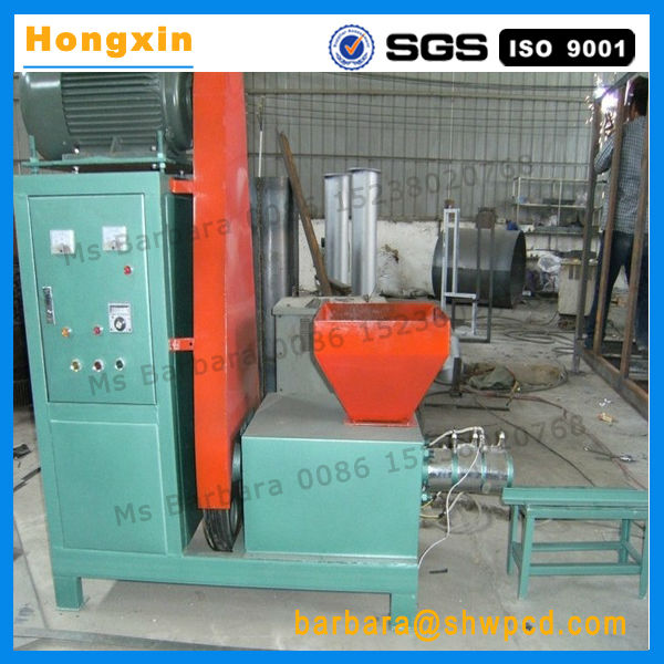 Factory price wood charcoal briquette extruder machine on sale.jpg