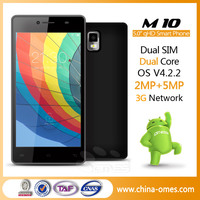 China 5'' MTK Dual Core Free Mobile Games For Touch Screen Phones