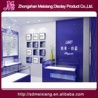 Shop perfume display rack, MX4046 fashion store fixtures design